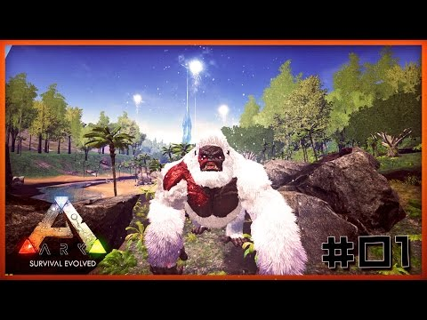 ARK Survival Evolved Modları Türkçe / Megapithecus Boss (Goril) #1
