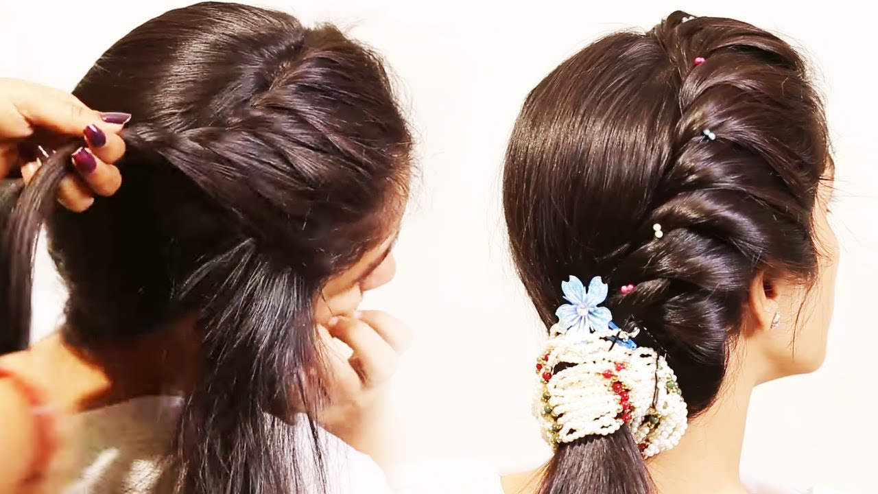 Simple Twist Braids Hairstyles | Beautiful Hairstyle For Girls - YouTube