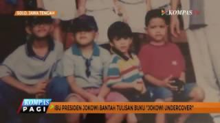 "Gambar cover Ibu Jokowi Bantah Tulisan Buku ""Jokowi Undercover"""