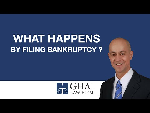 What Happens by Filing Bankruptcy?