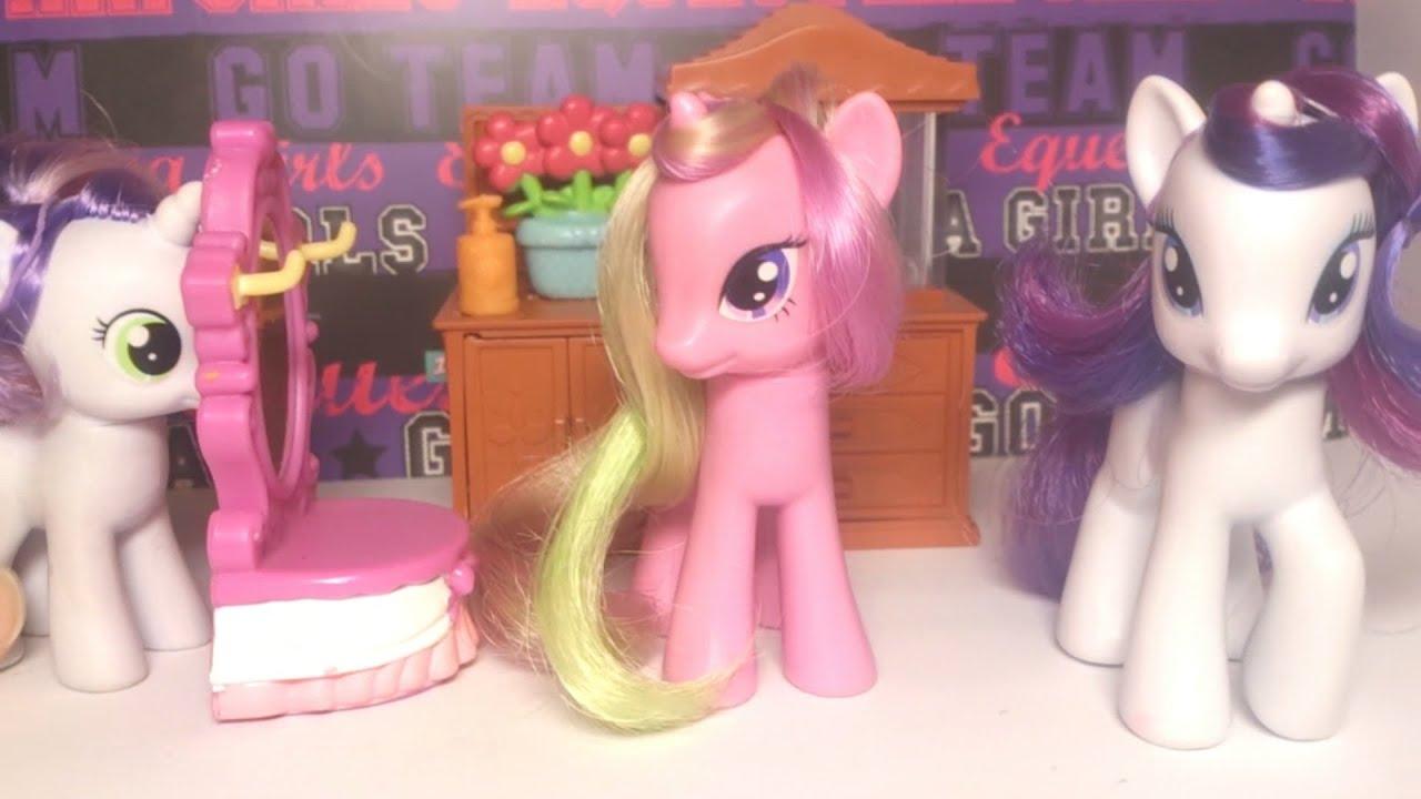Прическа для пони рарити - 4