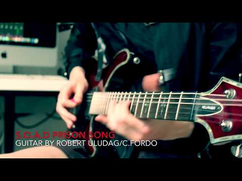 System of a Down-Prison song guitar cover by Robert Uludag/Commander Fordo