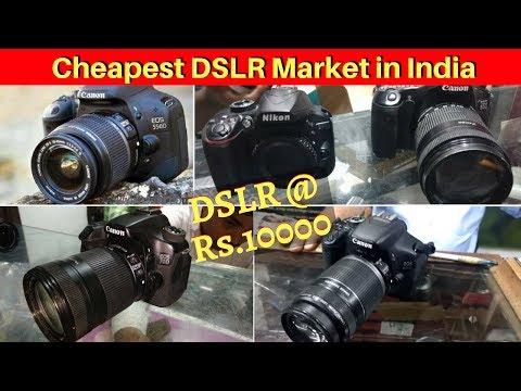 DSLR Market   DSLR at Rs.10000   Buy Used DSLR at Cheap Price   Delhi