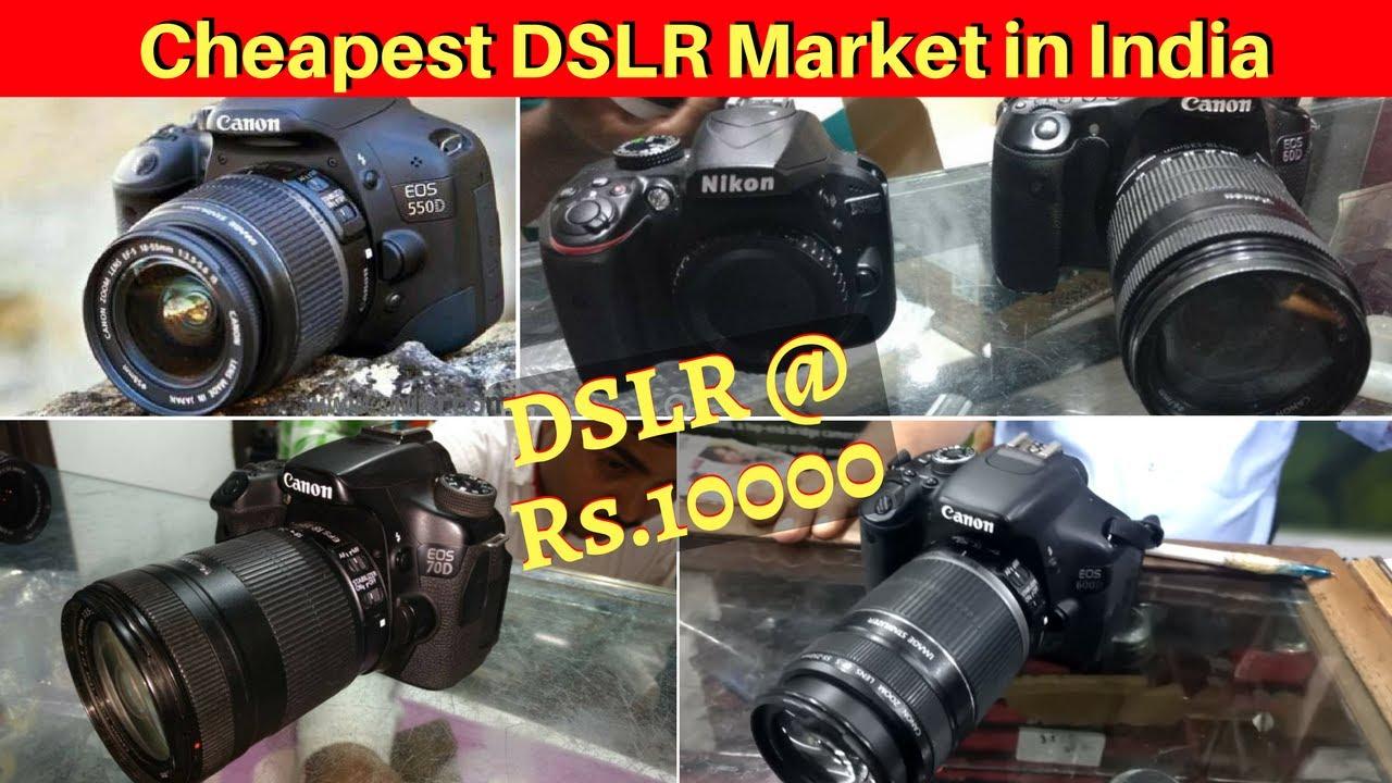 Dslr Market Dslr At Rs10000 Buy Used Dslr At Cheap Price