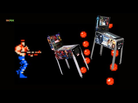 Arcade1up Marvel and Star Wars Pinball Preorders Spread Shot!! from 19kfox