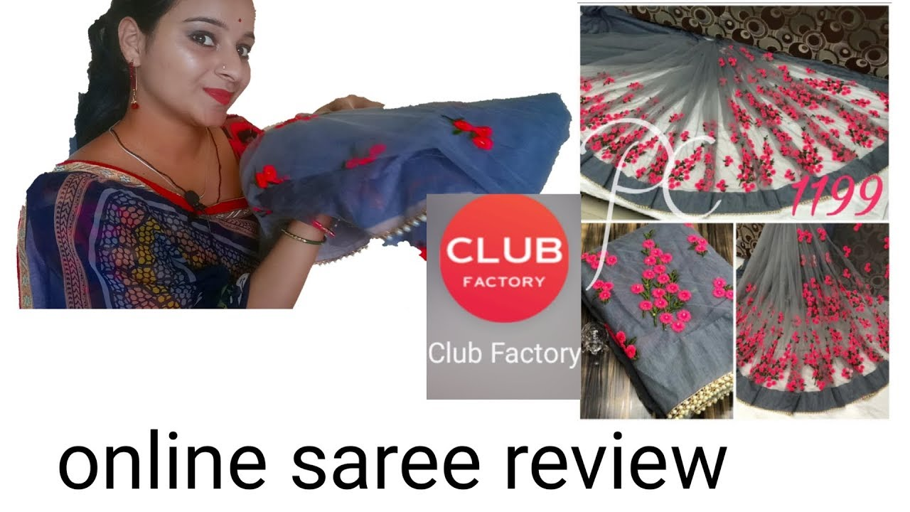 Club Factory Offers Sarees Online Sale, UP TO 20 OFF