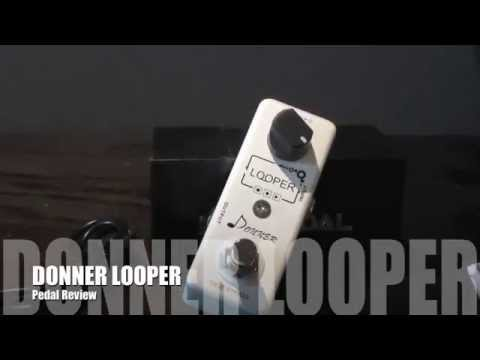 donner looper pedal review youtube