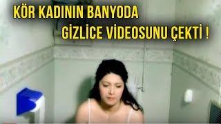 Banyodayken Kendisini Görüntüleyen Adama, Görme Engelli Kadın Bakın Ne Yaptı ?