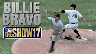 MLB The Show 17 Billie Bravo RTTS (SP) - EP61 MLB 17 Debut & Duel vs Kershaw