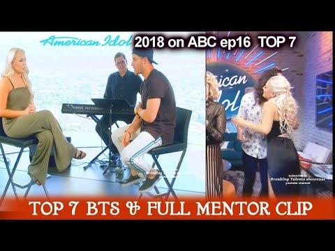 Gabby Barrett Full Mentor Segment & Behind the Scene Prince Night American Idol 2018  TOP 7