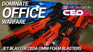 Dominate Office Warfare - Jet Blaster CEDA Omni Foam Blasters