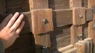 Входная, деревянная дверь под старину(, 2014-10-30T22:43:51.000Z)