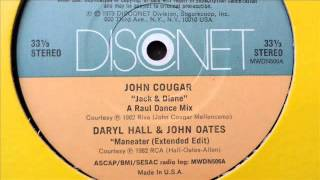 daryl hall & john oates - maneater (extended disconet 12