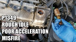 Rough Idle, Poor Acceleration, Misfire P1349 2000-2004 Toyota Avalon