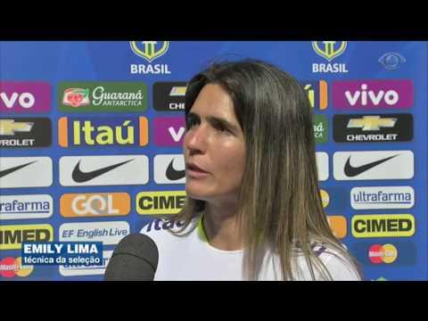 Seleção feminina encara a Itália nesta quarta-feira