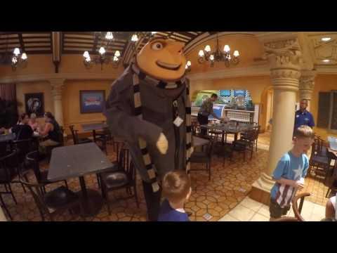 Superstar Character Breakfast Universal Studios Orlando 2016
