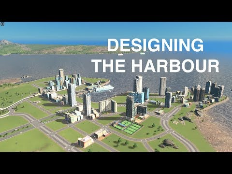 HOW to build a harbour for high traffic usage| Cities:Skylines