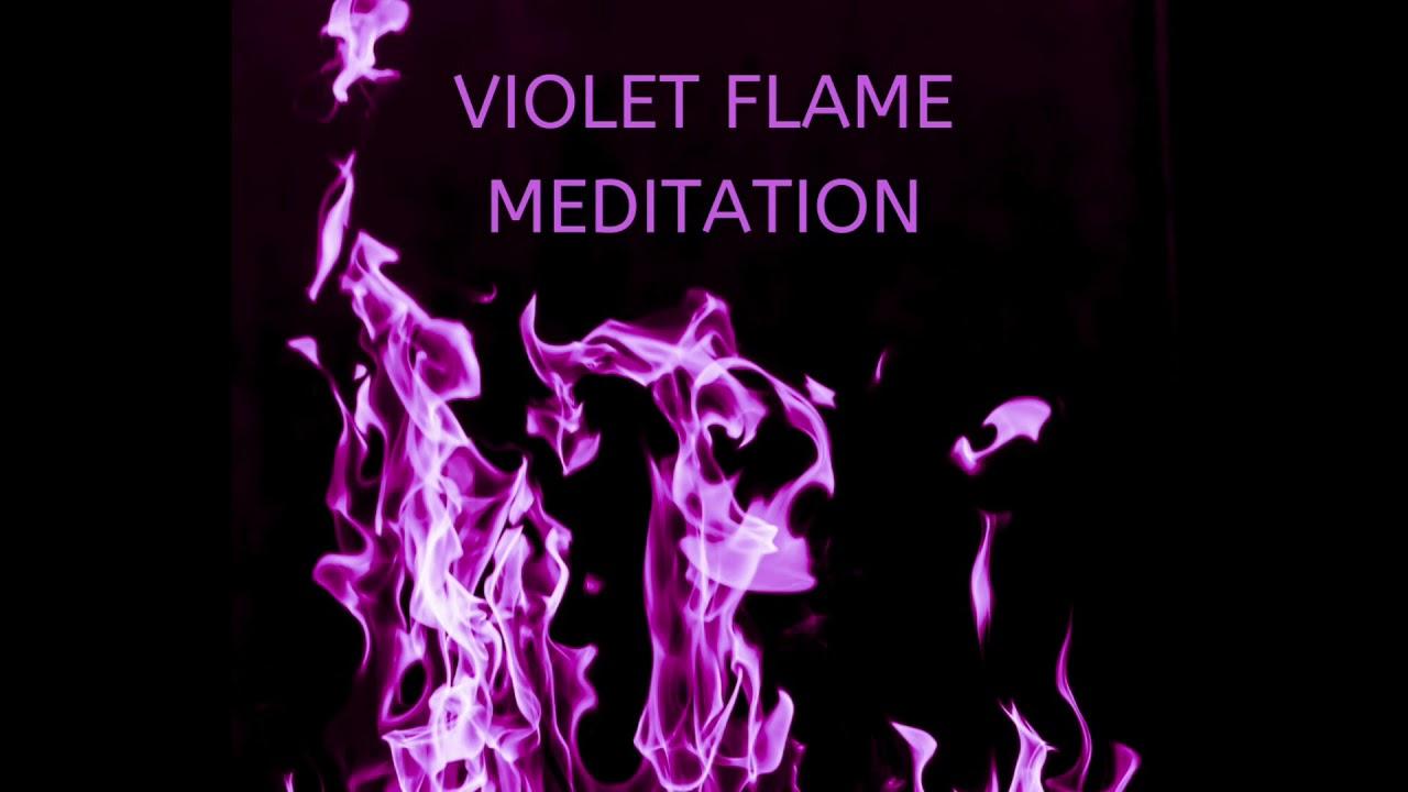 Violet Flame Meditation - YouTube