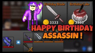 I MET PRISMAN ON ROBLOX ASSASSINS BIRTHDAY