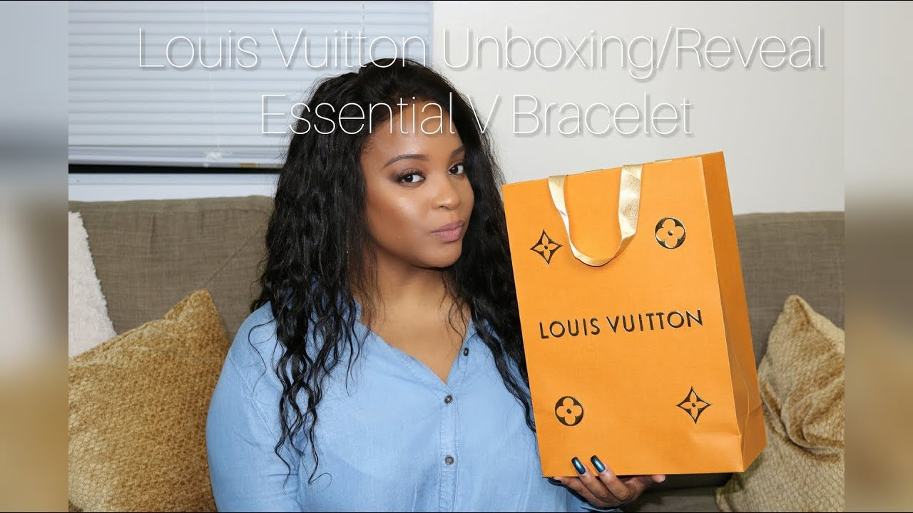 1a8048745ee71 Louis Vuitton Unboxing/Reveal   Essential V Bracelet   Chi.Chi.Luxe