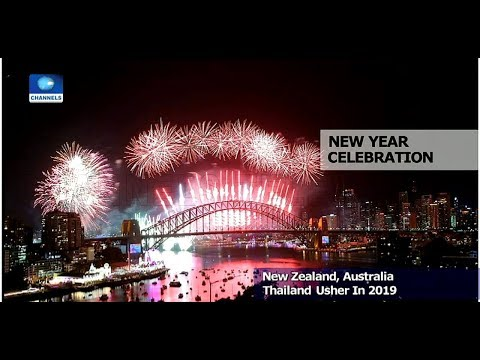 Countries Around The World Welcome Year 2019 With Fireworks