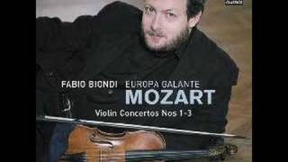 Mozart - Violin Concerto No.1 in B flat major K.207: I