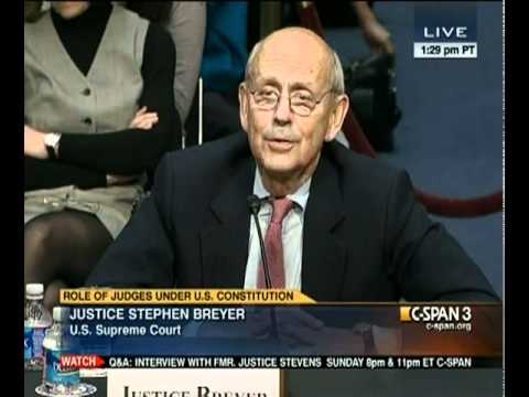 Justices Scalia & Breyer on Cameras in the Court