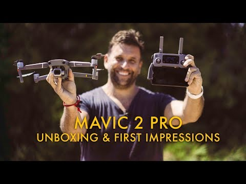 DJI Mavic 2 Pro unboxing and first hands on