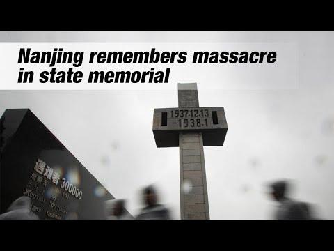 Live: Nanjing remembers massacre in state memorial南京大屠杀死难者国家公祭仪式