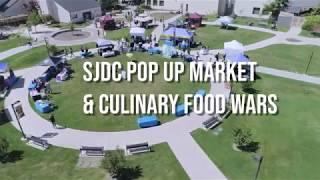 SJDC Pop Up Market & Food Wars