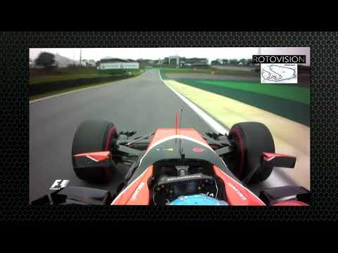 Alonso onboard - Qualifying GP Interlagos (Brasil 2017)