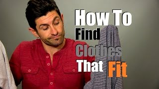 How To Find Clothes That Fit YOUR Body | Problem Solved! Thumbnail