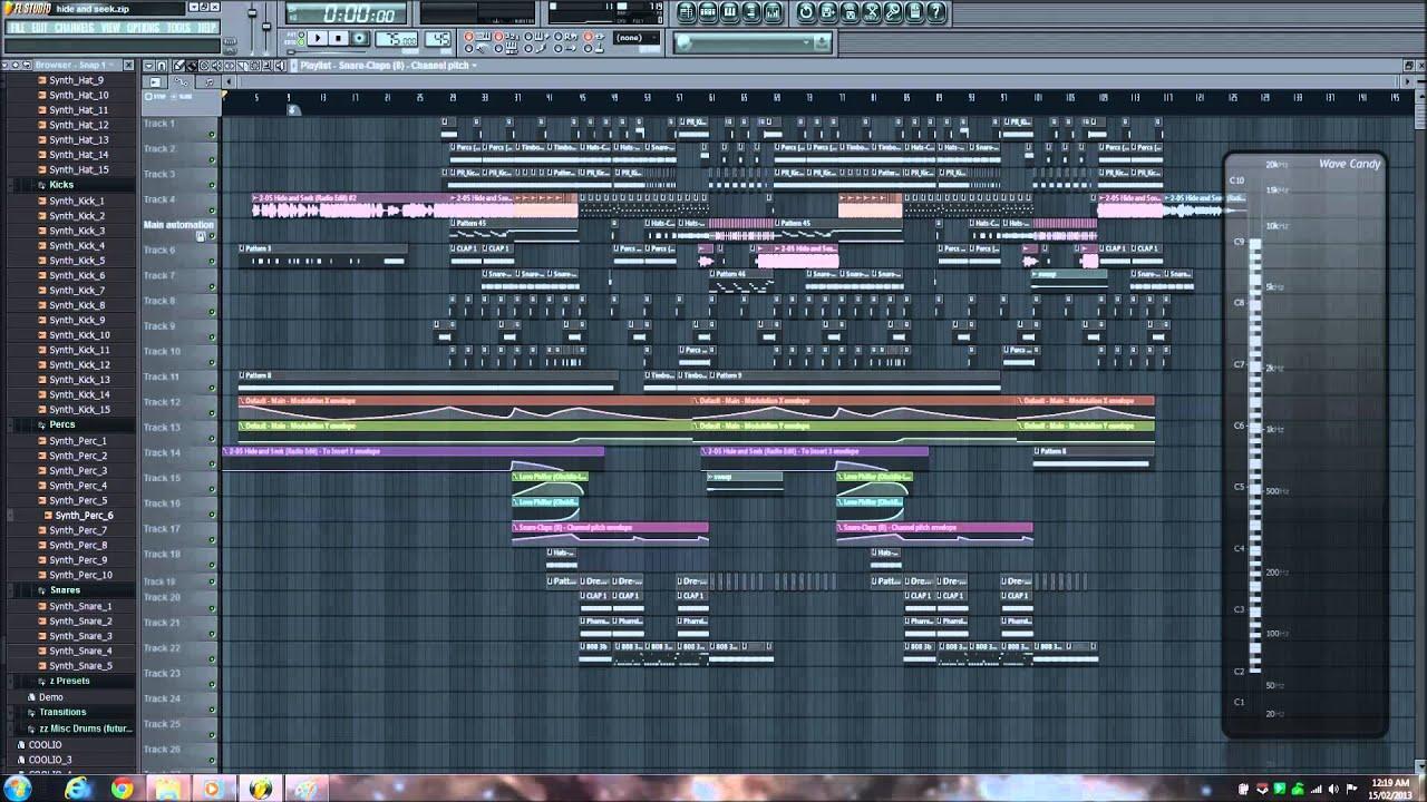 FL Studio Trap- Imogen Hide and Seek (IV: The Fourth Remix ...