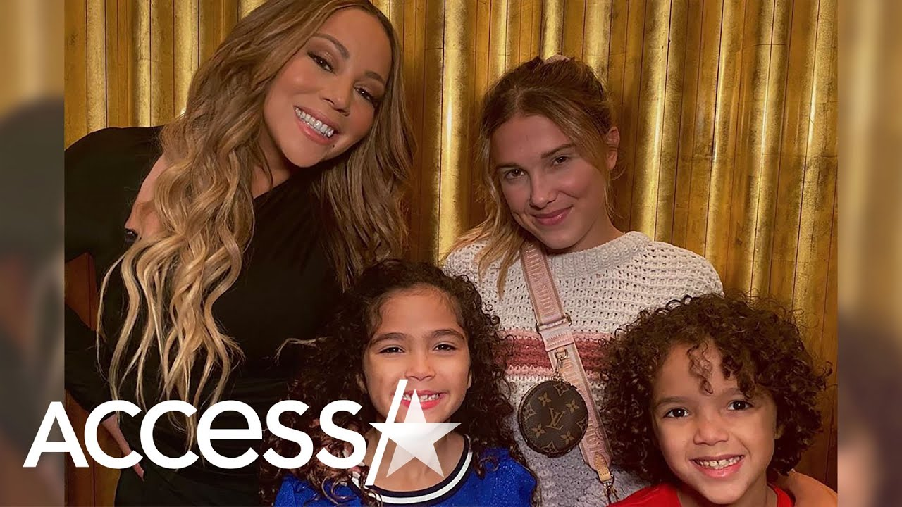 Mariah Carey's Kids Meet Millie Bobby Brown And Are Totally Starstruck!