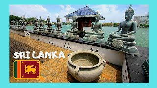 SRI LANKA, the most beautiful and photographed Buddhist temple in COLOMBO