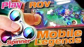 Fidget Spinner make Mini Joystick Play Mobile Legend or Realm of valor