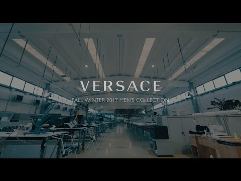 Versace Menswear Fall Winter 2017 | The Versace Tribe pt.2