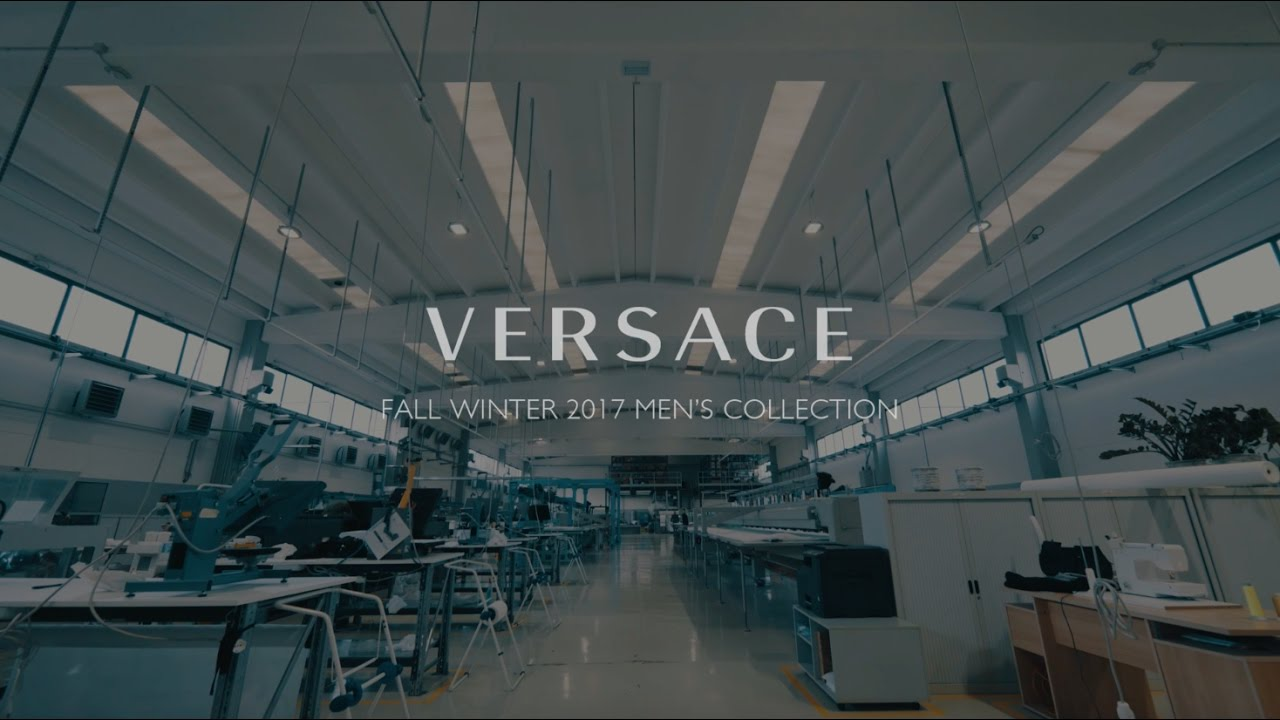 Versace Menswear Fall Winter 2017 | The Versace Tribe pt.2