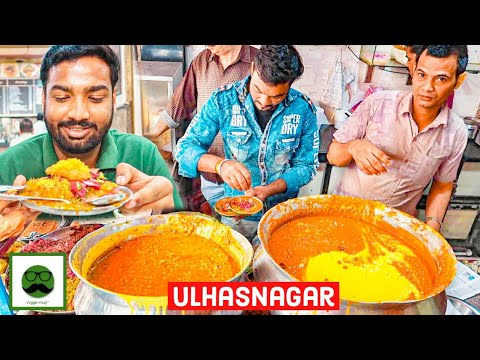 Sindhi Breakfast | Ulhasnagar Street Food | Veggie Paaji Mum