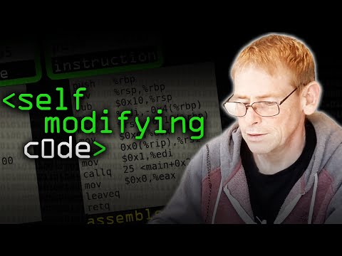 What NOT to do: Self Modifying Code - Computerphile