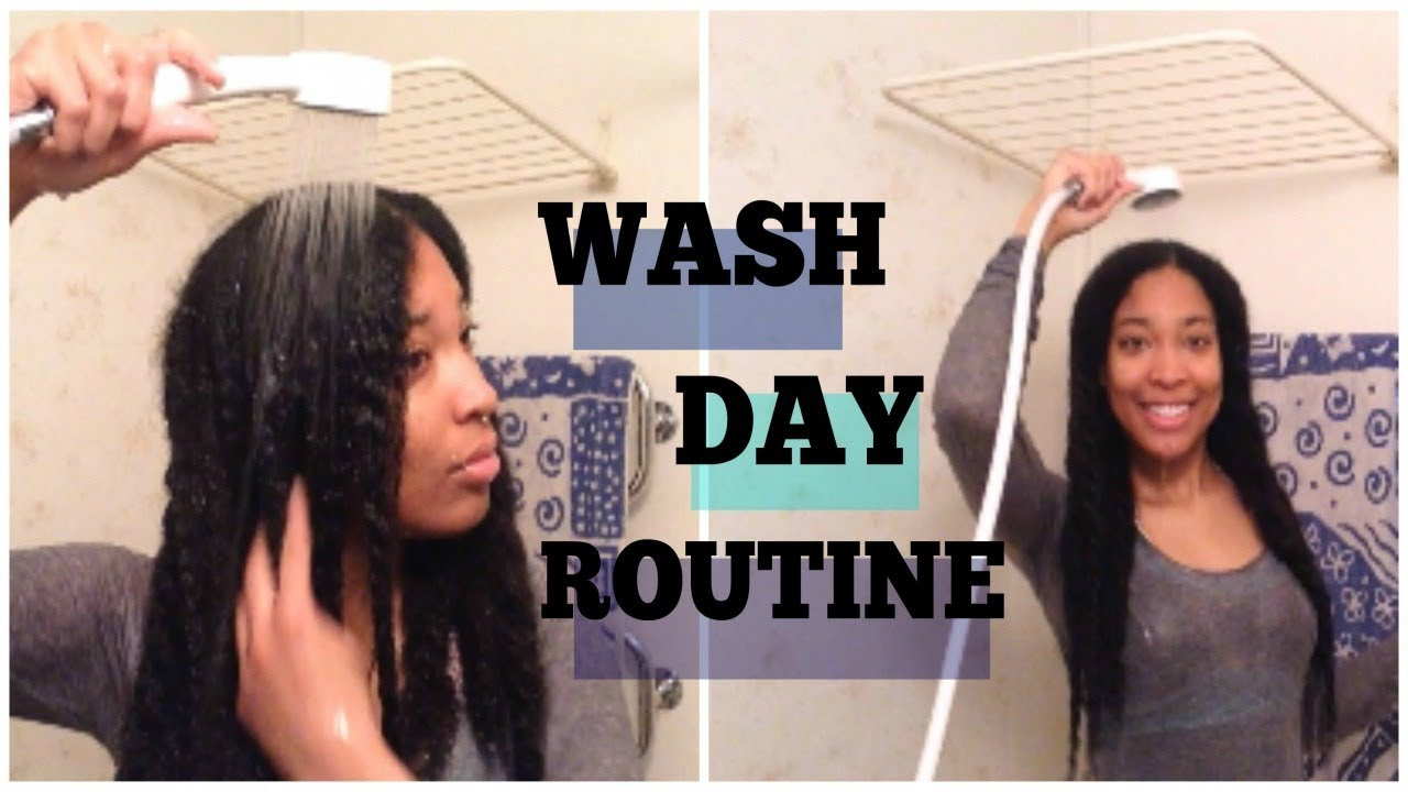 Best Wash Day Routine for Maximum Length Retention !