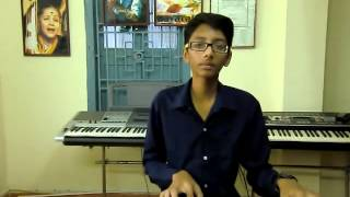 ilayaraja telugu song maate mantramu from seethakokachiluka on keyboard by k.saiteja