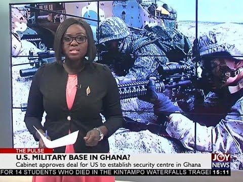 U.S. Military Base in Ghana? - The Pulse on JoyNews (20-3-18)