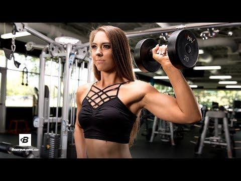 12-Move Upper-Body Workout for Women   Sarah Hunsberger, NPC National Bikini Champion