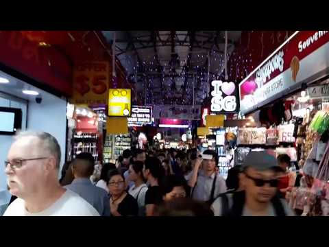 Bugis Street, Singapore | Samsung Galaxy J7 Pro Video Samples