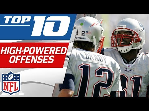 Top 10 Most High-Powered Offenses in NFL History | NFL Films
