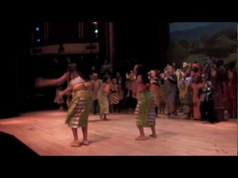 Black Nativity 2010: Dancing In The African Village