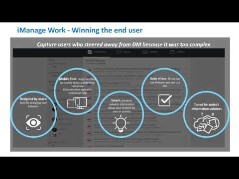iManage Work 10   The Next Generation User Experience