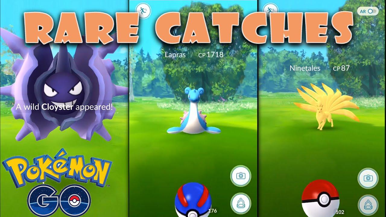 Pokemon go rare pokemon in the wild caught episode 1 youtube - Pokemon x pokemon rare ...