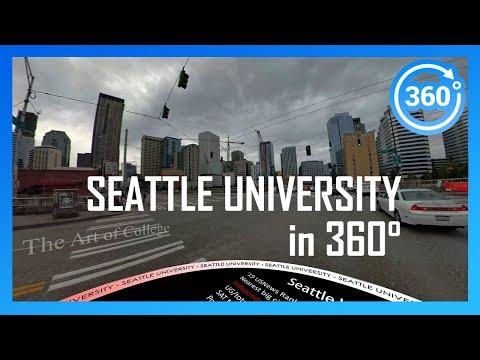 SEATTLE UNIVERSITY In 360° (walking/driving Campus Tour)